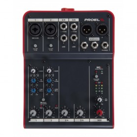PROEL MQ6 Compact 6-channel mixer