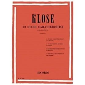 KLOSE' 20 Studi Caratteristici. per Clarinetto