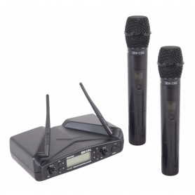 EIKON WM700DM doppio radiomicrofono a mano UHF