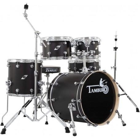 TAMBURO FORMULA20SBK, batteria 5pz serie Formula colore Satin Black - vaiconlasigla; strumenti musicali; vaiconlasigla s