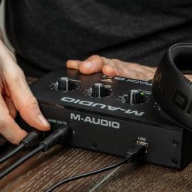 M-AUDIO M-Track Duo, Interfaccia audio USB a 2 canali - vaiconlasigla; strumenti musicali; vaiconlasigla shop; vaiconlas