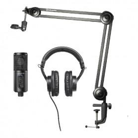 AUDIO-TECHNICA CREATOR PACK, kit per podcast, streaming e recording - vaiconlasigla; strumenti musicali; vaiconlasigla s
