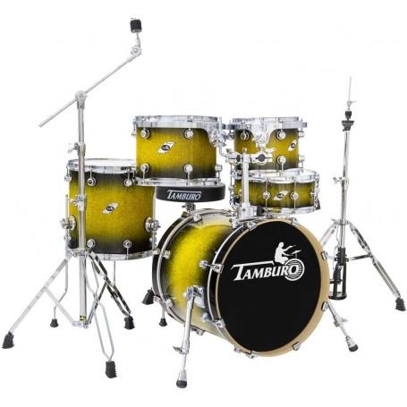 TAMBURO TB FORMULA20 GBSK, batteria  5pz Gold Black Sparkle - vaiconlasigla; strumenti musicali; vaiconlasigla shop; vai
