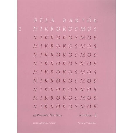 Béla Bartók: Mikrokosmos 1 Definitive Edition