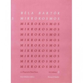 Béla Bartók: Mikrokosmos 3 Definitive Edition