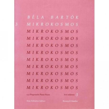 Béla Bartók: Mikrokosmos 3 Definitive Edition