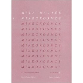 Béla Bartók: Mikrokosmos 4 Definitive Edition