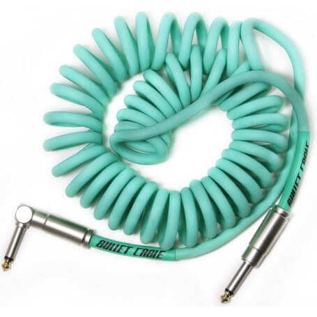 BULLET CABLE BC-15CCSEA CAVO ANGOLATO/DRITTO 4.5MT - Sea Foam