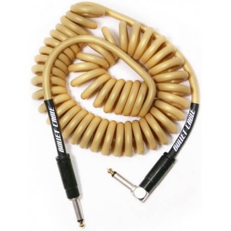 BULLET CABLE BC-15CCVG CAVO ANGOLATO/DRITTO 4.5MT - Vint.Gold - vaiconlasigla; strumenti musicali; vaiconlasigla shop; v