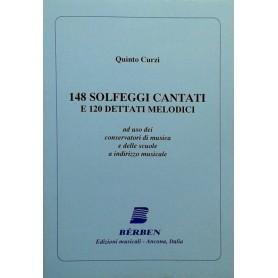 148 solfeggi cantati e 120 dettati melodici