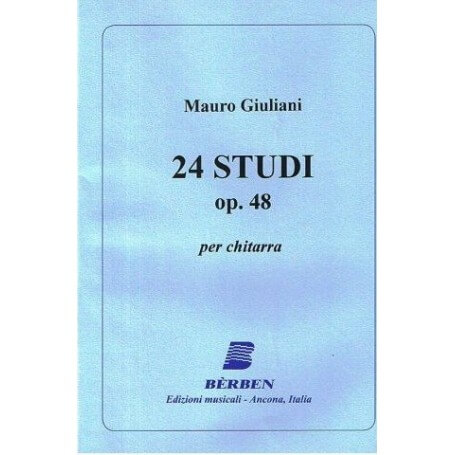 24 Studi per chitarra Op. 48 - vaiconlasigla; strumenti musicali; vaiconlasigla shop; vaiconlasigla strumenti musicali;