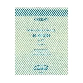 Czerny - SCUOLA DI VELOCITÀ 40 Studi Op.299, volume 3