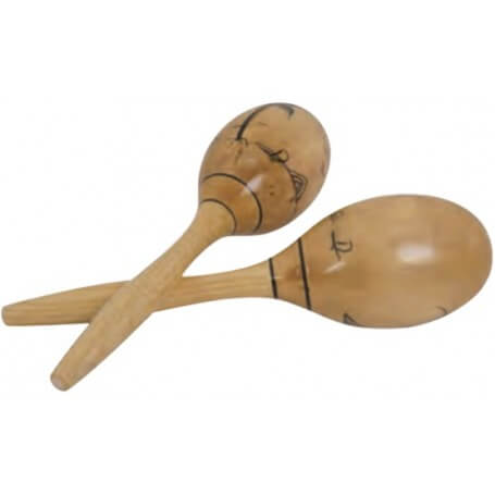 Darestone DT MARSW  coppia Maracas Professionali in legno - vaiconlasigla; strumenti musicali; vaiconlasigla shop; vaico