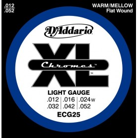 D'ADDARIO ECG25 Light 012 052