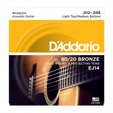 D\'ADDARIO EJ14 corde per chitarra acustica 12/56