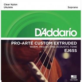 D'ADDARIO EJ65S set di corde per ukulele soprano