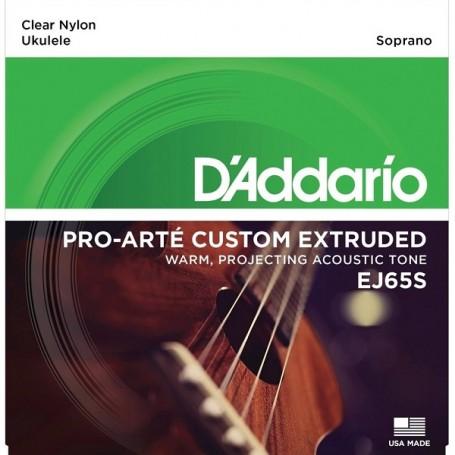 D\'ADDARIO EJ65S set di corde per ukulele soprano