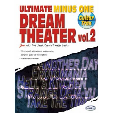 Dream Theater: Ultimate Minus One, Volume 2 - vaiconlasigla; strumenti musicali; vaiconlasigla shop; vaiconlasigla strum