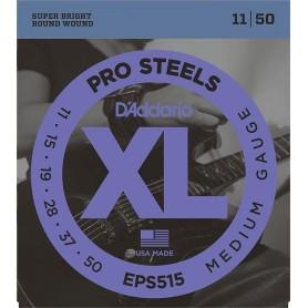 D'ADDARIO EPS515 PRO STEELS MEDIUM GAUGE 11/50 SET CORDE