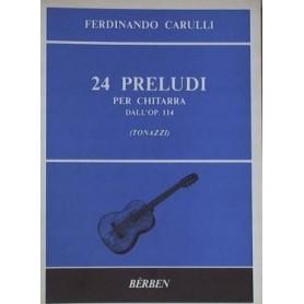 Ferdinando Carulli: 24 Preludi op.114