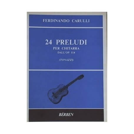 Ferdinando Carulli: 24 Preludi op.114 - vaiconlasigla; strumenti musicali; vaiconlasigla shop; vaiconlasigla strumenti m