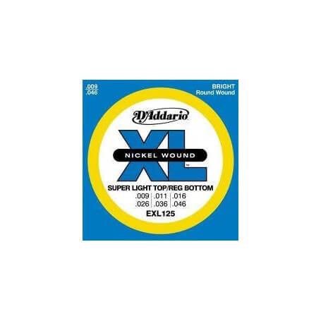 D'ADDARIO EXL 125 - vaiconlasigla; strumenti musicali; vaiconlasigla shop; vaiconlasigla strumenti musicali; music instr