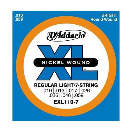 D'ADDARIO EXL110-7 - vaiconlasigla; strumenti musicali; vaiconlasigla shop; vaiconlasigla strumenti musicali; music inst