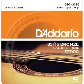D'ADDARIO EZ900 10-50 MUTA CHITARRA ACUSTICA