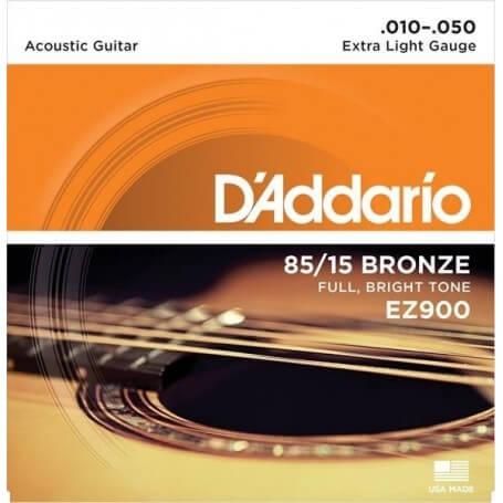 D'ADDARIO EZ900 10-50 MUTA CHITARRA ACUSTICA - vaiconlasigla; strumenti musicali; vaiconlasigla shop; vaiconlasigla stru
