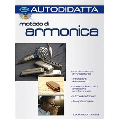 Metodo di armonica. Con CD AudioLeonardo Triassi - vaiconlasigla; strumenti musicali; vaiconlasigla shop; vaiconlasigla