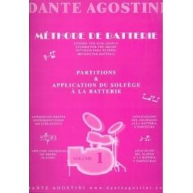 Dante Agostini, Metodo per Batteria Vol.1