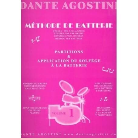 Dante Agostini, Metodo per Batteria  Vol.1 - vaiconlasigla; strumenti musicali; vaiconlasigla shop; vaiconlasigla strume