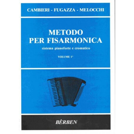 METODO PER FISARMONICA VOL. 1 - vaiconlasigla; strumenti musicali; vaiconlasigla shop; vaiconlasigla strumenti musicali;