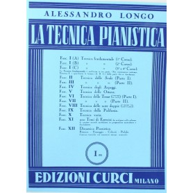 Alessandro Longo - Tecnica Pianistica Secondo corso Fasc. I (B)
