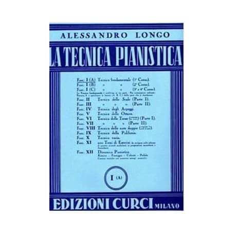 Alessandro Longo - Tecnica Pianistica Vol.1 - vaiconlasigla; strumenti musicali; vaiconlasigla shop; vaiconlasigla strum