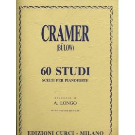 CRAMER : 60 STUDI SCELTI PER PIANOFORTE CURCI EC4261