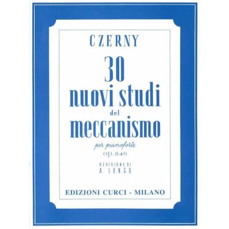 CZERNY 30 Nuovi Studi del Meccanismo Op. 849 per Pianoforte (Longo) - vaiconlasigla; strumenti musicali; vaiconlasigla s