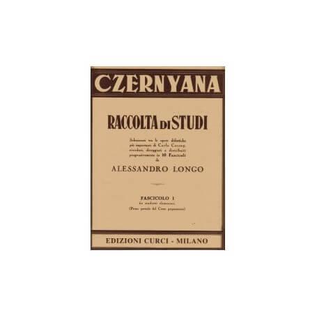 Czernyana Fascicolo I EC2591 A.Longo - vaiconlasigla; strumenti musicali; vaiconlasigla shop; vaiconlasigla strumenti mu