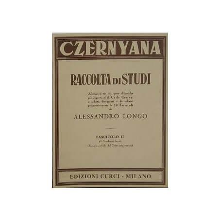 CZERNYANA RACCOLTA DI STUDI FASC 2 di A.Longo - vaiconlasigla; strumenti musicali; vaiconlasigla shop; vaiconlasigla str