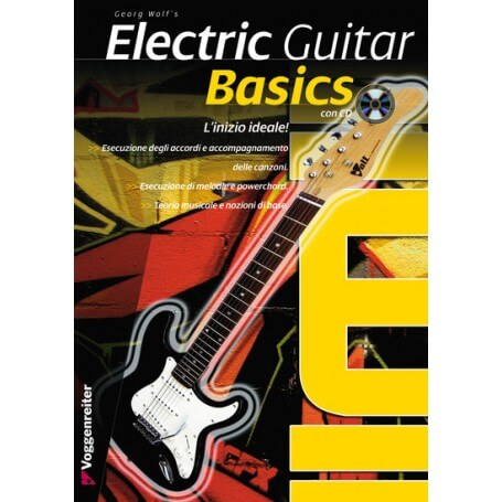 Electric Guitar Basics. L'inizio ideale!