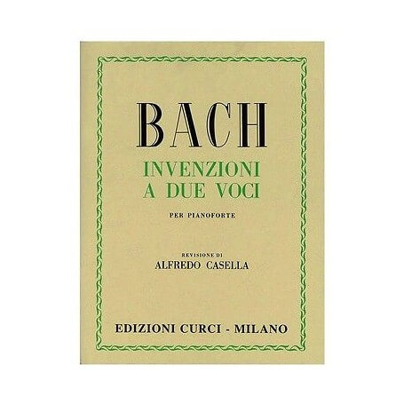 J. S. Bach - INVENZIONI A 2