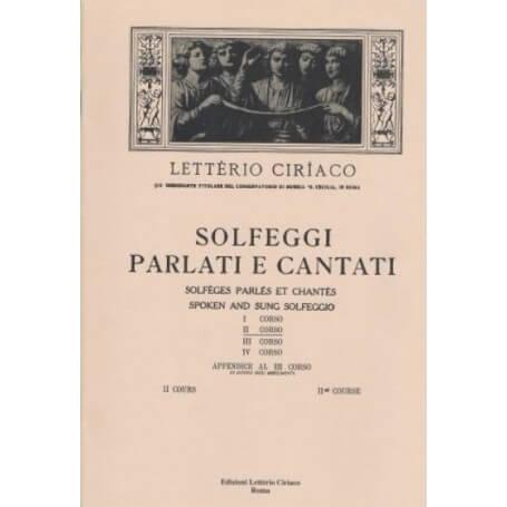 LETTERIO CIRIACO  SOLFEGGI PARLATI E CANTATI II CORSO - vaiconlasigla; strumenti musicali; vaiconlasigla shop; vaiconlas