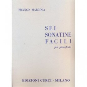 Sei Sonatine Facili per Pianoforte, Franco Margola