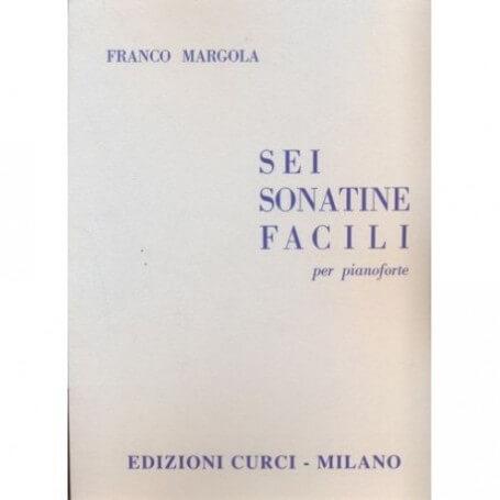 Sei Sonatine Facili per Pianoforte, Franco Margola - vaiconlasigla; strumenti musicali; vaiconlasigla shop; vaiconlasigl