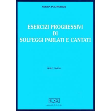 Esercizi progressivi di solfeggi parlati e cantati Primo Corso - vaiconlasigla; strumenti musicali; vaiconlasigla shop;