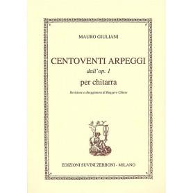Mauro Giuliani Op.1 120 Arpeggi