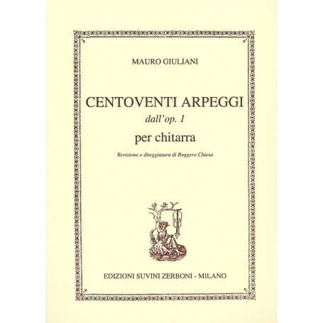 Mauro Giuliani Op.1 120 Arpeggi - vaiconlasigla; strumenti musicali; vaiconlasigla shop; vaiconlasigla strumenti musical