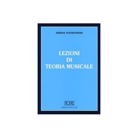 POLTRONIERI Lezioni di teoria musicale - vaiconlasigla; strumenti musicali; vaiconlasigla shop; vaiconlasigla strumenti