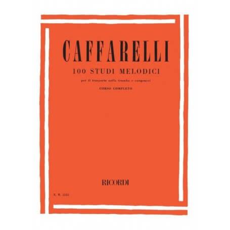 100 studi melodici per tromba Ricordi - vaiconlasigla; strumenti musicali; vaiconlasigla shop; vaiconlasigla strumenti m