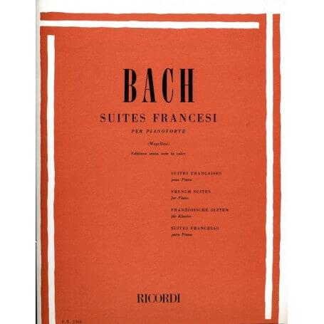 Bach - SUITES FRANCESI - vaiconlasigla; strumenti musicali; vaiconlasigla shop; vaiconlasigla strumenti musicali; music